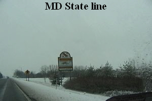 MD State line