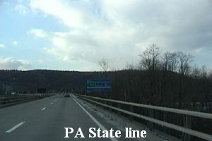 PA State line